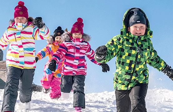 Kuoma. Зимняя верхняя одежда для детей