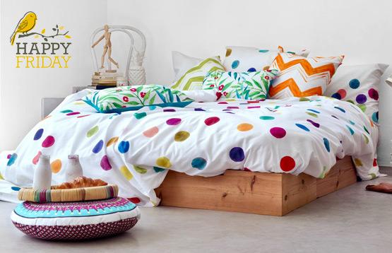 Happy Friday. Домашний текстиль из Испании