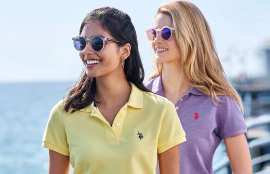 U.S.Polo Assn. Распродажа одежды для женщин