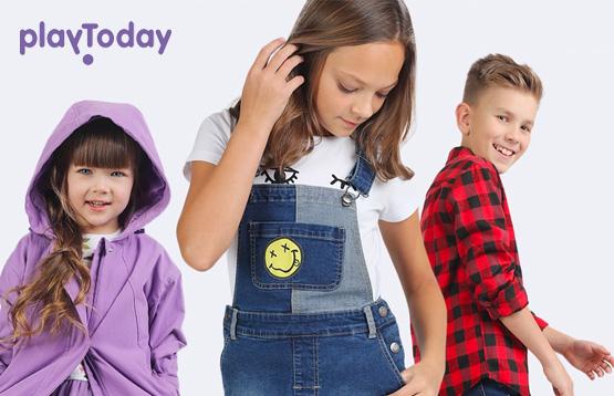 PlayToday. Коллекция одежды для детей от 0 до 12 лет