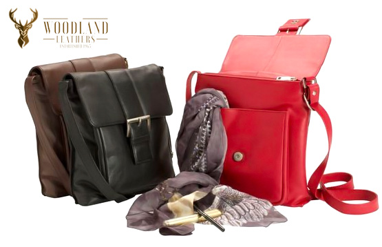 Woodland Leathers. Кожаные сумки из Англии