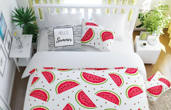 Сирень. Комплекты постельного белья из полисатина и одеяла
