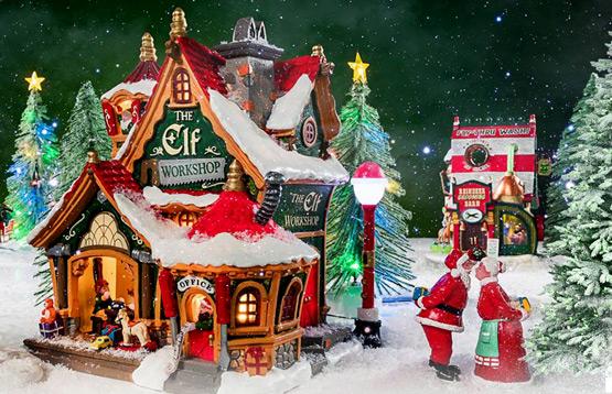 Lemax. Рождественская деревня