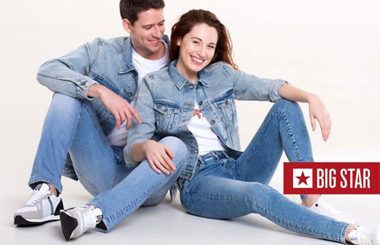 Big Star. Мужская и женская джинсовая одежда