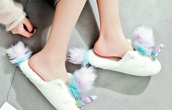 Тапочки Halluci и носочки Caramella